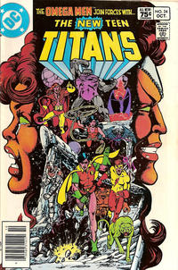 Cover Thumbnail for The New Teen Titans (DC, 1980 series) #24 [Canadian]