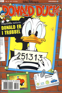 Cover Thumbnail for Donald Duck & Co (Hjemmet / Egmont, 1948 series) #10/2012