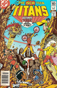 Cover Thumbnail for The New Teen Titans (DC, 1980 series) #28 [Canadian]
