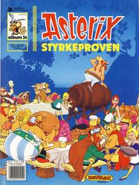 Cover Thumbnail for Asterix (Hjemmet / Egmont, 1969 series) #24 - Styrkeprøven [5. opplag]
