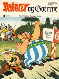 Cover Thumbnail for Asterix (Hjemmet / Egmont, 1969 series) #9 - Asterix og goterne [2. opplag]