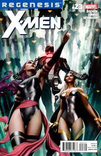 Cover for X-Men (Marvel, 2010 series) #23 [Venom Variant Cover by John Tyler Christopher]