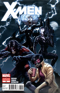 Cover for X-Men (Marvel, 2010 series) #23 [Venom Variant Cover by John Tyler Christopher]