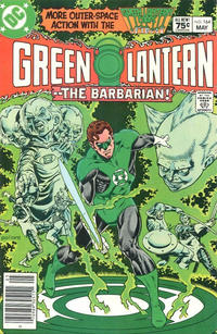 Cover Thumbnail for Green Lantern (DC, 1960 series) #164 [Canadian]