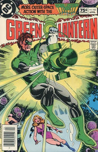 Cover for Green Lantern (DC, 1960 series) #163 [Direct-Sales]