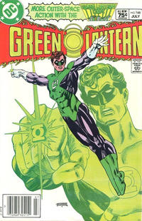 Cover Thumbnail for Green Lantern (DC, 1976 series) #166 [Canadian Price Variant]