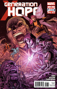 Cover for Generation Hope (Marvel, 2011 series) #17