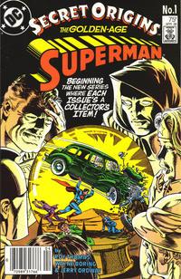 Cover Thumbnail for Secret Origins (DC, 1986 series) #1 [Newsstand]