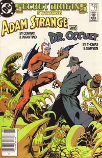 Cover Thumbnail for Secret Origins (DC, 1986 series) #17 [Newsstand]