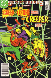 Cover Thumbnail for Secret Origins (DC, 1986 series) #18 [Newsstand]