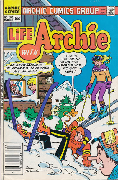 Cover for Life with Archie (Archie, 1958 series) #253