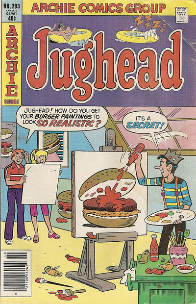 Cover for Jughead (Archie, 1965 series) #293
