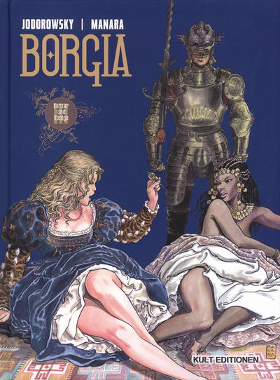 Cover for Borgia (Kult Editionen, 2006 series) #3