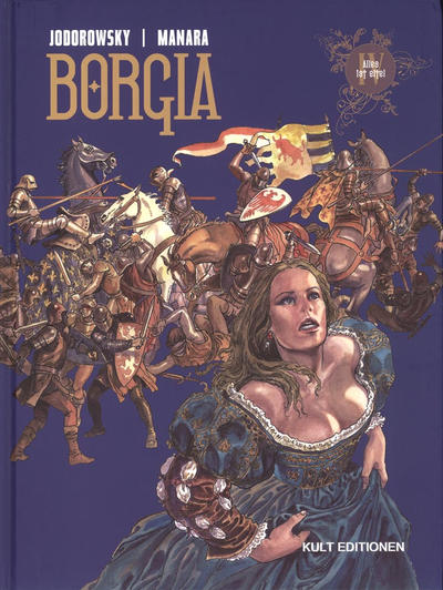 Cover for Borgia (Kult Editionen, 2006 series) #4