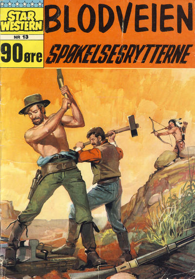 Cover for Star Western (Illustrerte Klassikere / Williams Forlag, 1964 series) #13
