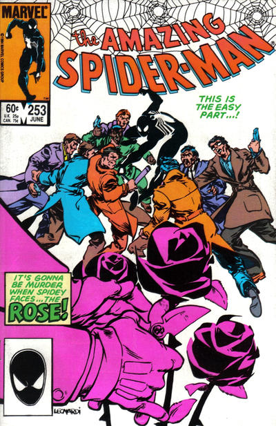 Cover for The Amazing Spider-Man (Marvel, 1963 series) #253 [Direct Edition]