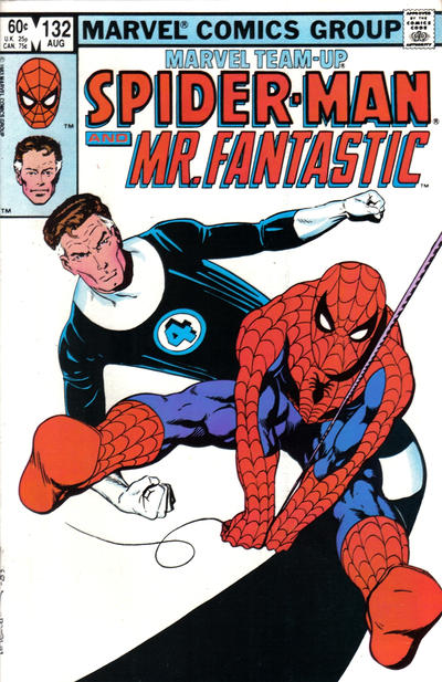 Cover for Marvel Team-Up (Marvel, 1972 series) #132 [Direct Edition]