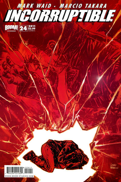 Cover for Incorruptible (Boom! Studios, 2009 series) #24 [Cover A]