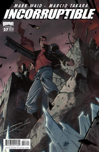 Cover for Incorruptible (Boom! Studios, 2009 series) #27 [Cover B]