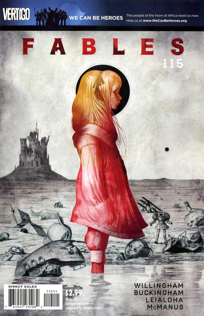 Cover for Fables (DC, 2002 series) #115
