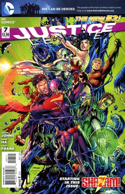 Cover for Justice League (DC, 2011 series) #7 [Combo Pack]