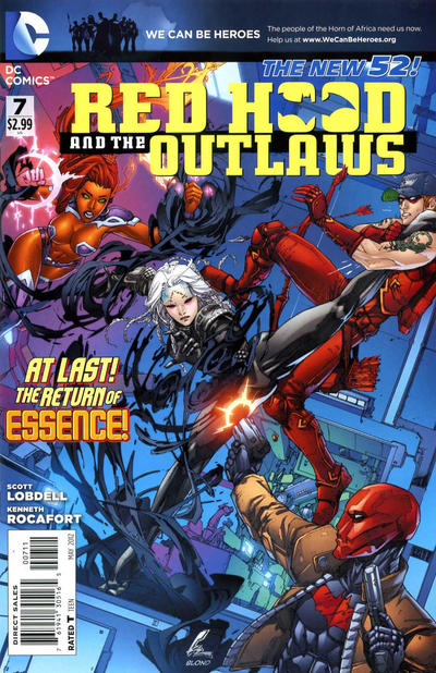 Cover for Red Hood and the Outlaws (DC, 2011 series) #7