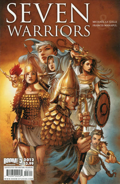 Cover for 7 Warriors (Boom! Studios, 2011 series) #3
