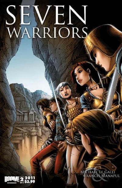Cover for 7 Warriors (Boom! Studios, 2011 series) #2