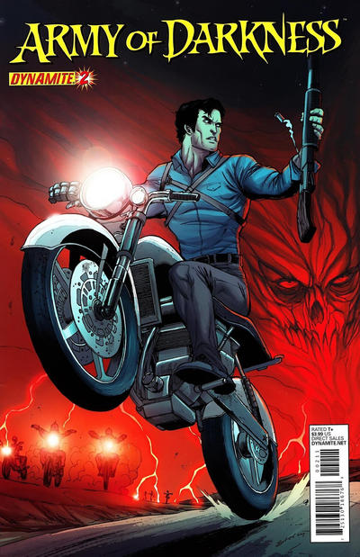 Cover for Army of Darkness (Dynamite Entertainment, 2012 series) #2