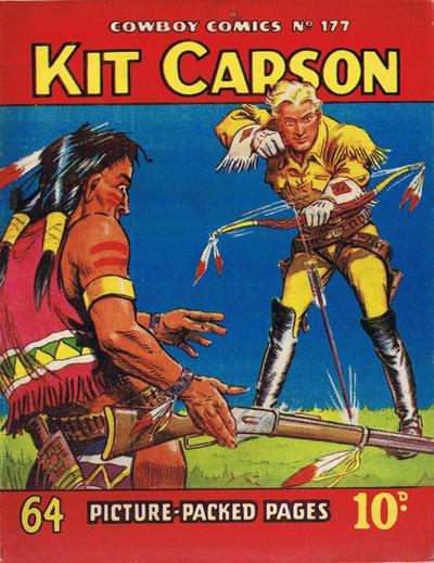 Cover for Cowboy Comics (Amalgamated Press, 1950 series) #177