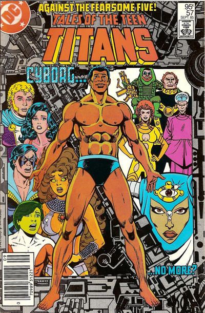 Cover for Tales of the Teen Titans (DC, 1984 series) #57 [Direct]