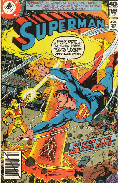 Cover for Superman (DC, 1939 series) #340