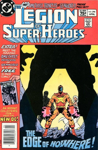 Cover for The Legion of Super-Heroes (DC, 1980 series) #298 [Canadian]