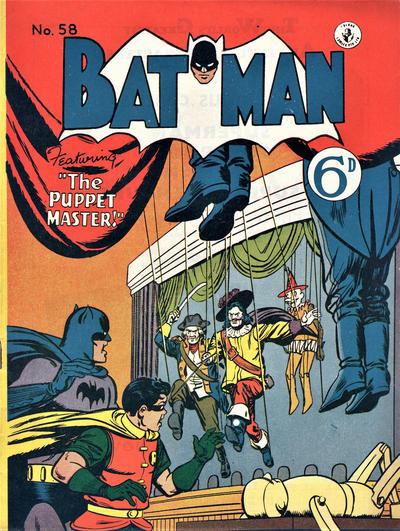 Cover for Batman (K. G. Murray, 1950 series) #58