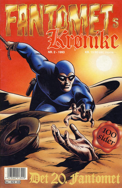 Cover for Fantomets krønike (Semic, 1989 series) #2/1993