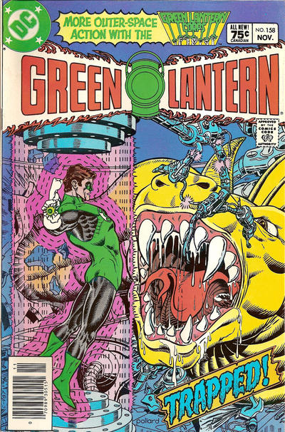 Cover for Green Lantern (DC, 1976 series) #158 [Newsstand]