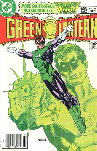 Cover for Green Lantern (DC, 1976 series) #166 [Canadian Price Variant]