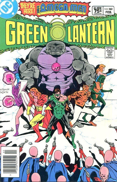Cover for Green Lantern (DC, 1976 series) #161 [Direct-Sales]