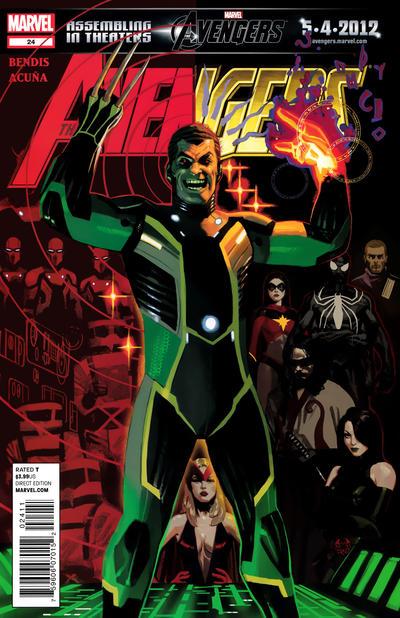 Cover for Avengers (Marvel, 2010 series) #24