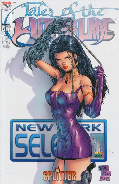 Cover for Tales of the Witchblade (Splitter, 1997 series) #3