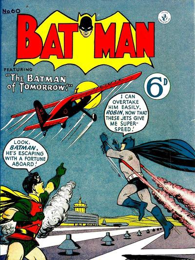 Cover for Batman (K. G. Murray, 1950 series) #60