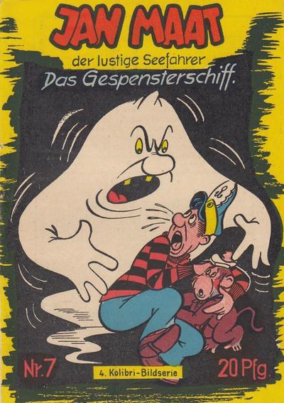 Cover for Jan Maat (Lehning, 1954 series) #7
