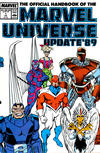 Cover for The Official Handbook of the Marvel Universe (Marvel, 1989 series) #1