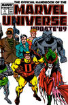 Cover for The Official Handbook of the Marvel Universe (Marvel, 1989 series) #2