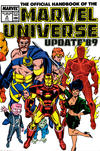 Cover for The Official Handbook of the Marvel Universe (Marvel, 1989 series) #4