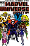 Cover for The Official Handbook of the Marvel Universe (Marvel, 1989 series) #5