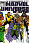 Cover for The Official Handbook of the Marvel Universe (Marvel, 1989 series) #6