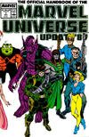 Cover for The Official Handbook of the Marvel Universe (Marvel, 1989 series) #7
