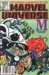 Cover Thumbnail for The Official Handbook of the Marvel Universe (1983 series) #7 [Newsstand]