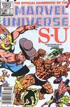 Cover Thumbnail for The Official Handbook of the Marvel Universe (1983 series) #11 [Newsstand]